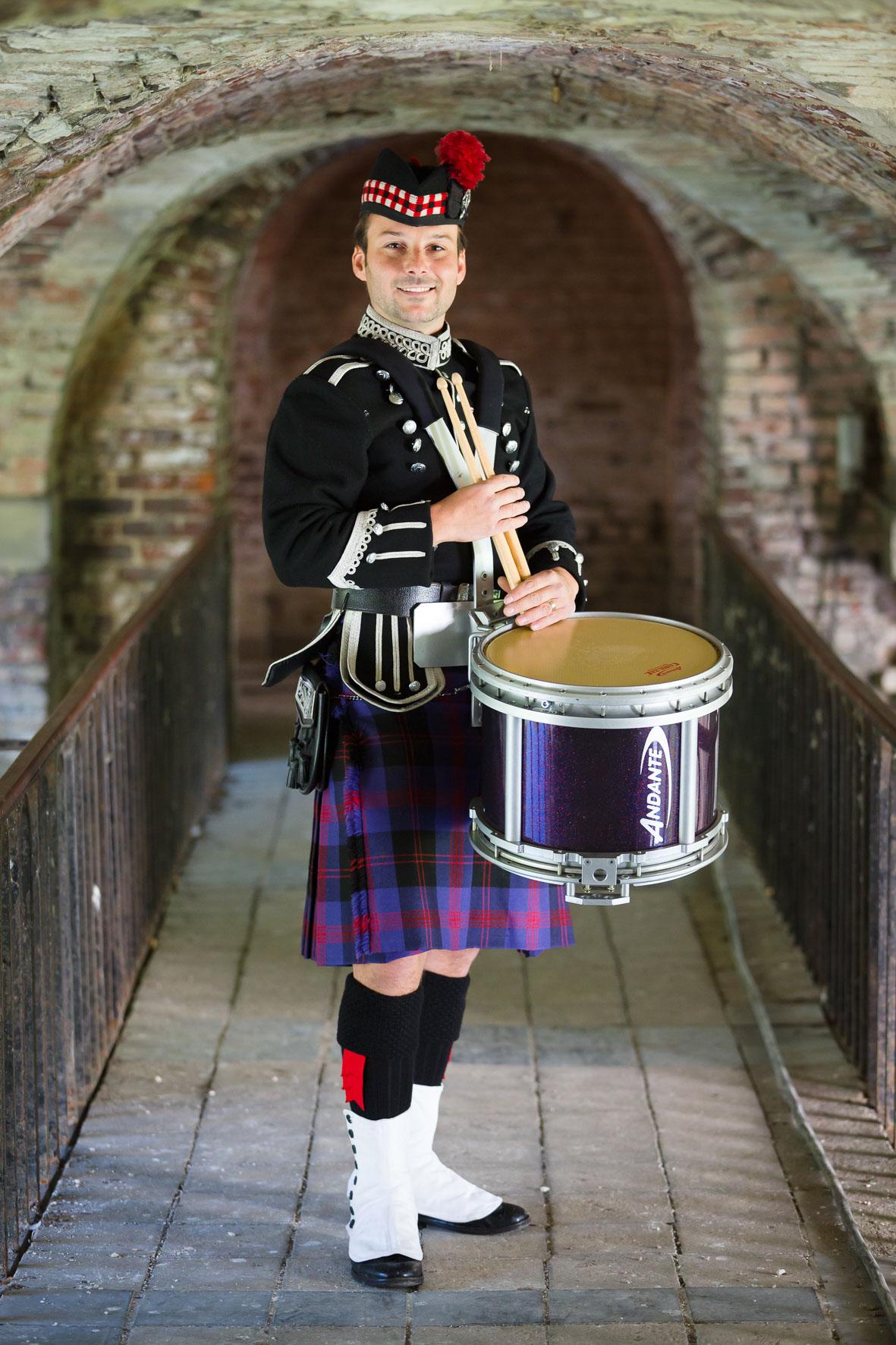 Richard the scottish drummer